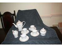 Queen Elizabeth ll Golden Jubilee commemorative coffee set