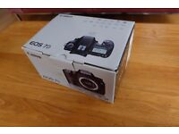 Canon EOS 7D Mark 1 18.0 Mb Digital SLR Camera - Black (Body only) Used twice, boxed.