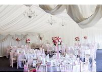 Wedding table decoration handmade artificial flower display/ bouquet centrepiece with vase