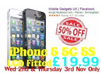 ** Half Price ** Offer on iPhone 5 5C 5S LCD Screen Repair Near City Centre By Top Rated Shop