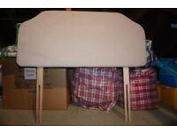 Single bed headboard dralon