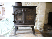 Villager Flat Topped Stove for Wood or Coal