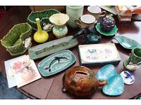 Job Lot of Good Quality Retro Ceramics Pottery Items Poole BMP etc