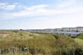 Caravan with views of the Solent