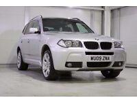 2009 BMW X3 2.0d M Sport, BMW Service History, Sat Nav, Bluetooth
