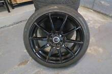 "PWD Alloy Wheels 17"" x 7 - Metallic Black with Tyres North Sydney North Sydney Area Preview"