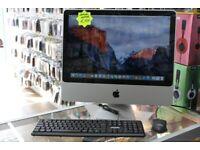 Apple iMac 8,1 2008 20 inch Core 2 Duo 2.6GHz 4GB RAM 320GB HDD Radeon OSX EI CAPTION 10.11.6