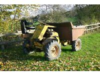 4 Wheel Drive Thwaites DUMPER c/w Log Book