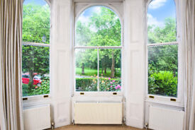 Beautiful one bedroom flat with stunning views of Highbury Fields. No Tenant fees.