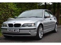 2002 BMW 318i SALOON MV-2 M SPORT ALLOYS 5 DOOR 2.0l 117K SAT NAV, DVD, SD, AUX