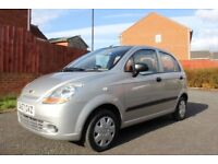 2007 Chevrolet MATIZ 0.8L, 12 months MOT, Low mileage, 2 Keys