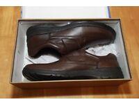 Langer Mens Brown Shoes Size 9