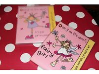 2 (brand new) Bang on the Door Cross Stitch Kits (Little Princess and Fairy Girl)