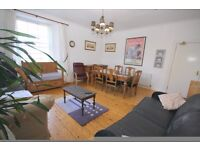 Huge 5 bedroom flat, newly decroated,central/Union Street, hige hall & sitting room, great views,bar