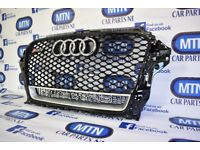 2012-2016 AUDI RS3 FRONT GRILL QUATTRO FITS 8V MODELS PRE-FACELIFT