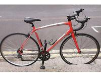 Specialized Allez road bike, 58.2cm, 16sp, RED