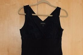 Navy blue woman's dress size 10-12