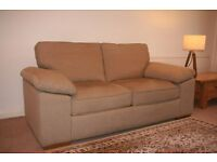 Excellent quality large two seater sofa (Fabric)
