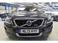 Volvo XC60 D5 R-DESIGN AWD [LEATHER / 18''s] (saville grey metallic) 2013