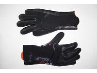 GUL 4mm Liquidseam Wetsuit Neoprene Diving Gloves Proffesional Black Grip S