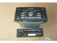 One Ford Radio / CD Player and One Vauxhall Radio Cassette player
