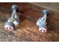 Flip Wheels, Bullet Trucks, Bearings and Truck Bolts - Skateboard Set-Up - Just Add Deck