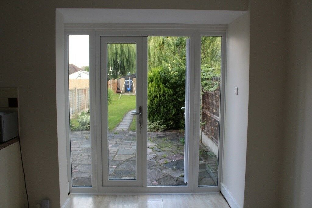 Upvc French Patio Doors With 7 Point Locking System And Upvc Window