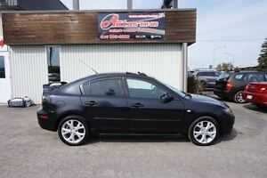 2007 Mazda MAZDA3 GT FULL EQUIPE TOIT/MAGS SEULEMENT 158300KM