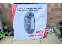 Snow Chains - size 185/14 Lineaccessori, Never Been Used, Histon