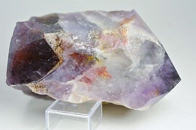 "Auralite 23 ""Eternal Flame""Semi Polished Point W/ Inclusions RARE GEM! CANADA!!"