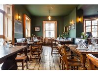 Sous Chef for independent gastropub in SW1