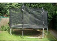 Trampoline 14 ft Kaz Sport - will support up to 18 stone