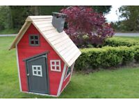 Brand new wooden wendy playhouse in sealed packaging