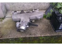 2002 audi a4 1.8t inlet manifold and throttle body