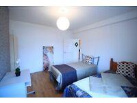 Lovely Twin Room in Edgware Road!! one week free rent!! only half deposit (5W)