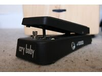 Ernie Ball Cry Baby WAH WAH pedal mint condition!