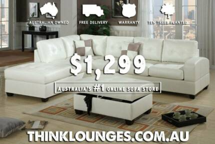 NEW SOFA LOUNGE SET WITH FREE OTTOMAN DELIVERED - DISCOUNTED Newcastle 2300 Newcastle Area Preview