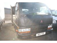 MITSUBISHI CANTER DOUBLE CAB TIPPER 2.8 – 2000