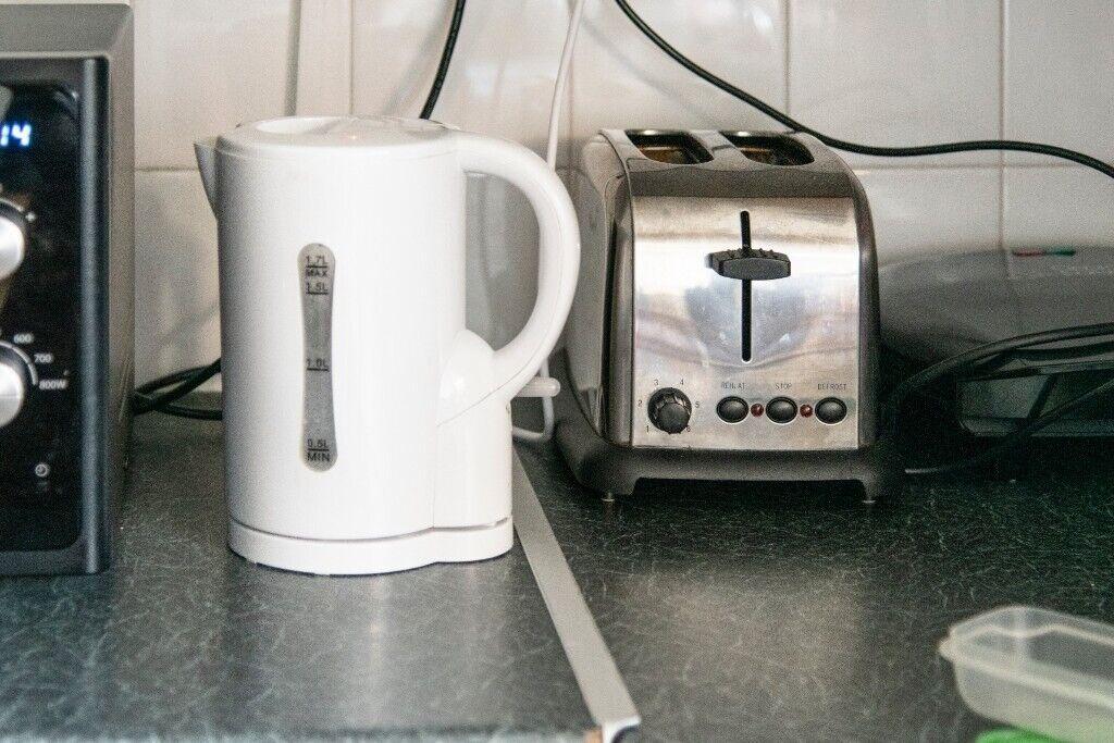 Argos White Kettle Plus Toaster Free In Islington London