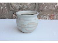 Vintage Agnew Pottery Handmade Pot Northern Irish Studio Pottery Trinket Box Kitchen Storage