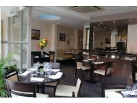 Experienced Waitress / Waiter required - Full Time / Part time - up to £8 / hour