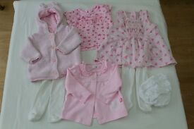 Girls Baby Clothes, 0 – 3 months. Good as new or excellent condition.