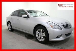 2011 Infiniti G37X SEDAN AWD Luxury+AWD+Cuir+Toit+Navi