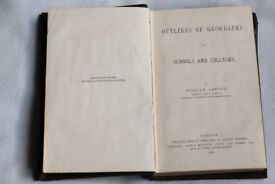 Outlines of Geography for Schools and Colleges by William Lawson 1873