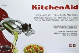 Kitchenaid Spiralizer Set - Brand New in Box
