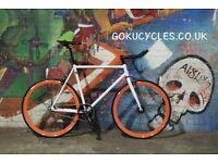 Special Offer GOKU CYCLES Steel Frame Single speed road bike TRACK bike fixed gear BIKE AA3