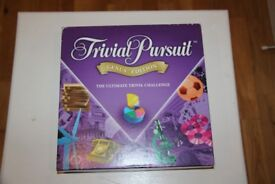Trivial Pursuit / Fuzzy Felt / Scrabble