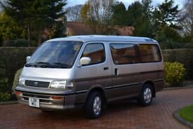 Toyota Hiace Super Custom van in superb condition with loads of extras