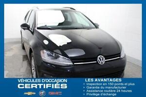 2015 Volkswagen GOLF SPORTWAGON 1.8 TSI CUIR SIÈ.CHAUF CAM.REC É