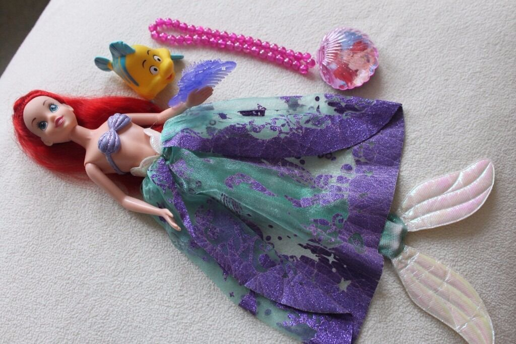 Disney Princess The Little Mermaid Ariel 12 Quot Doll Accs